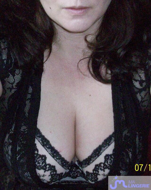 Photo de la lingerie de Milena