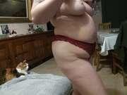 Photos de la lingerie de Cleo, En petite tenue